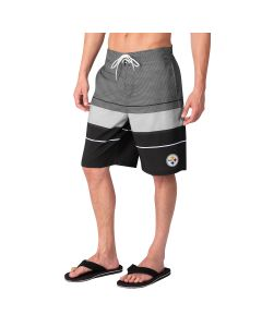 Pittsburgh Steelers Men's Triple Swim Trunk