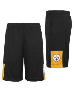 Pittsburgh Steelers Boys' Endzone Pass Short
