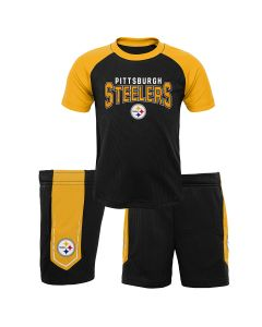 Pittsburgh Steelers Toddler Follow Through T-Shirt & Short Set