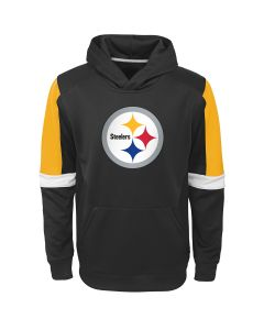 Pittsburgh Steelers Boys' Blocker Performance Lightweight Hoodie