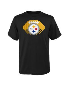 Pittsburgh Steelers Boys' 8-Bit Sport Short Sleeve T-Shirt
