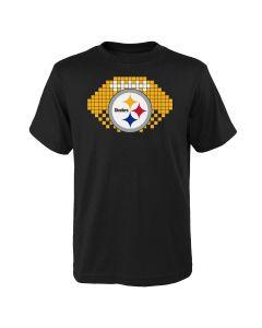 Pittsburgh Steelers Boys' 8-Bit Sport Short Sleeve T-Shirt