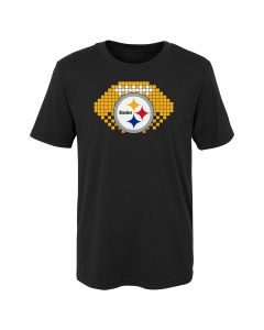 Pittsburgh Steelers Little Boys' 8-Bit Sport Short Sleeve T-Shirt