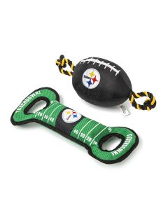 Pittsburgh Steelers Dog Toys - set of 2