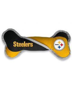 Pittsburgh Steelers Pet Bone Tug Toy