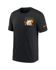 Pittsburgh Steelers Men's Nike Short Sleeve Dri-FIT Cotton Facility T-Shirt