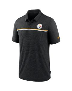 Pittsburgh Steelers Men's Nike Dri-Fit Black Polo