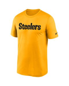 Pittsburgh Steelers Men's Nike Short Sleeve Legend Wordmark Gold T-Shirt