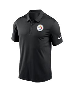 Pittsburgh Steelers Men's Nike Franchise Black Polo