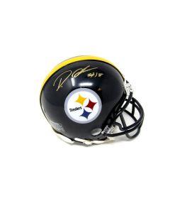 Pittsburgh Steelers #18 Diontae Johnson Autographed Riddell Mini Helmet