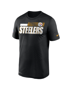 Pittsburgh Steelers Men's Nike Short Sleeve Playbook Sideline T-Shirt