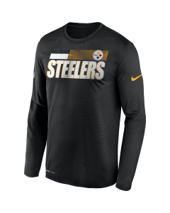 Pittsburgh Steelers Men's Nike Long Sleeve Playbook Sideline T-Shirt