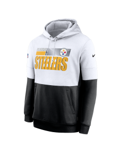 Pittsburgh Steelers Men's Nike Playbook Therma Sideline Hoodie