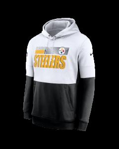 Pittsburgh Steelers Men's Nike Playbook Therma Sideline Hoodie