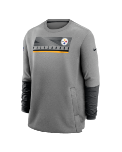 Pittsburgh Steelers Men's Nike Coach's Heavyweight Therma Crew