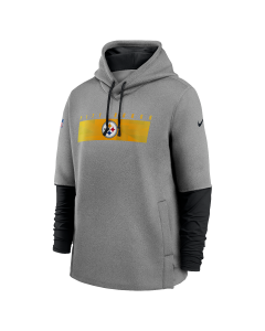Pittsburgh Steelers Men's Nike Coach's Heavyweight Therma Hoodie
