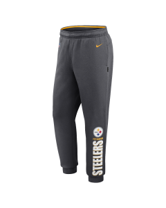 Pittsburgh Steelers Nike Lockup Therma Grey Jogger