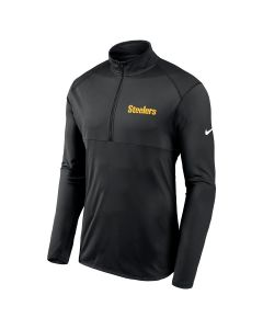 Pittsburgh Steelers Men's Nike Wordmark Element 1/2 Zip