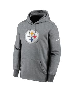 Pittsburgh Steelers Men's Nike Therma Primary Logo Hoodie