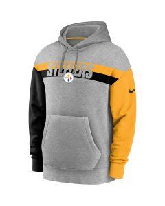 Pittsburgh Steelers Men's Nike Colorblock French Terry Hoodie