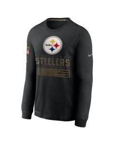 Pittsburgh Steelers Men's Nike Salute to Service (STS) Long Sleeve T-Shirt