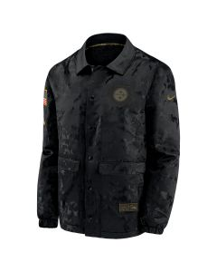 Pittsburgh Steelers Men's Nike Salute to Service (STS) Sherpa Mediumweight Jacket