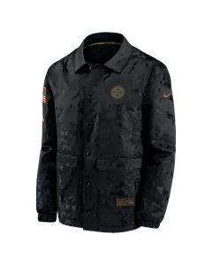 Pittsburgh Steelers Men's Nike Salute to Service (STS) Sherpa Mediumweight Jacket