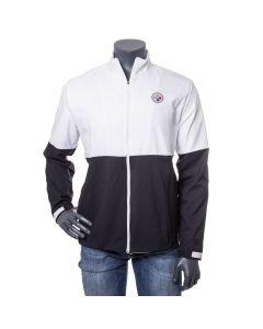 Pittsburgh Steelers Men's Nike Colorblock Woven Full Zip Lightweight Jacket
