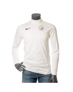 Pittsburgh Steelers Men's Nike Pro Therma Long Sleeve Mock Neck