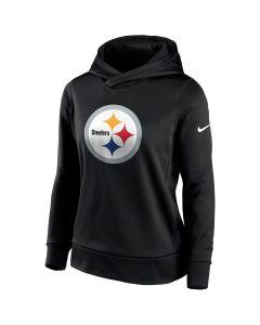 Pittsburgh Steelers Women's Nike Primary Logo Therma Hoodie