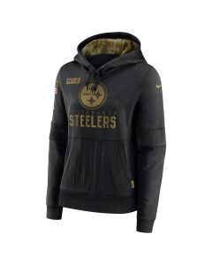 Pittsburgh Steelers Women's Nike Salute to Service (STS) Therma Hoodie
