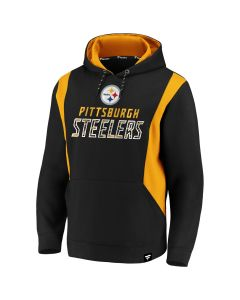 Pittsburgh Steelers Men's Iconic Defender Fleece Hoodie