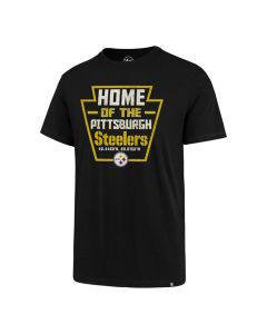 Pittsburgh Steelers '47 Keystone Coord Super Rival Short Sleeve T-Shirt