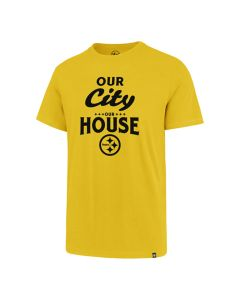 Pittsburgh Steelers '47 Our House Super Rival Short Sleeve T-Shirt