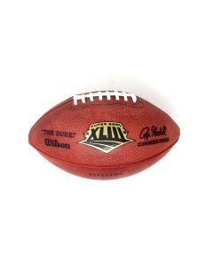 Pittsburgh Steelers Team Issued Super Bowl XLIII Football