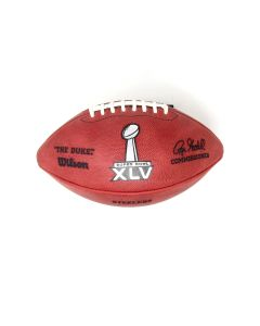 Pittsburgh Steelers Team Issued Super Bowl XLV Football