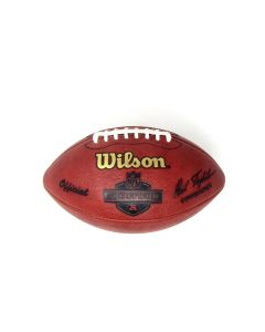 Pittsburgh Steelers Team Issued 2006 AFC Championship Game Football