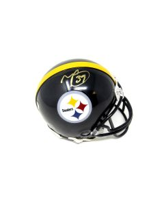 Pittsburgh Steelers #39 Minkah Fitzpatrick Autographed Riddell Mini Helmet