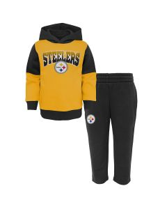 Pittsburgh Steelers Boys' Toddler Sideline Hoodie and Pant Set