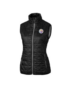 Pittsburgh Steelers Women's Cutter & Buck Rainier Vest