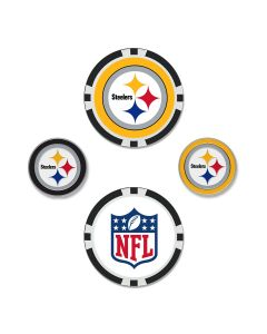 Pittsburgh Steelers Ball Markers - set of 4