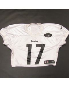 Pittsburgh Steelers #17 Deon Cain 2019 Used Practice Jersey