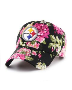 Pittsburgh Steelers '47 Women's Clean Up Rosalynn Floral Cap