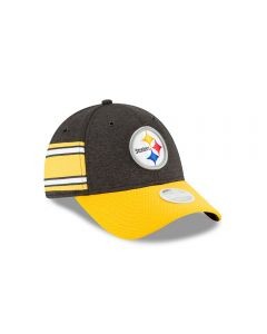 Pittsburgh Steelers New Era Women's 9FORTY Sideline Home Cap