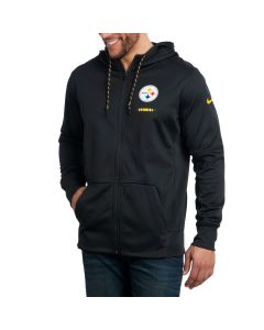 Pittsburgh Steelers Nike Therma Hoodie Full Zip