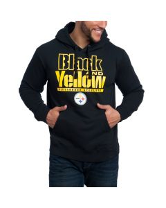 Pittsburgh Steelers Black and Yellow Pullover Hoodie