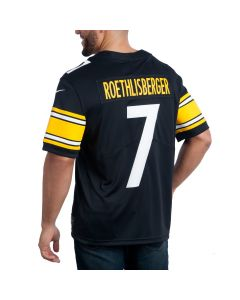 Ben Roethlisberger #7 Men's Nike Limited Home Jersey