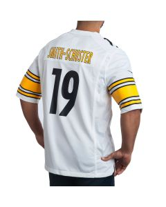 JuJu Smith-Schuster #19 Men's Nike Replica Away Jersey