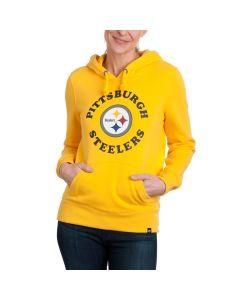 Pittsburgh Steelers '47 Women's Logo Hoodie