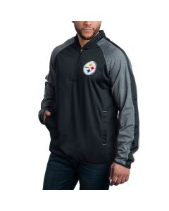 Pittsburgh Steelers Fast Track 1/4 Zip Pullover Jacket